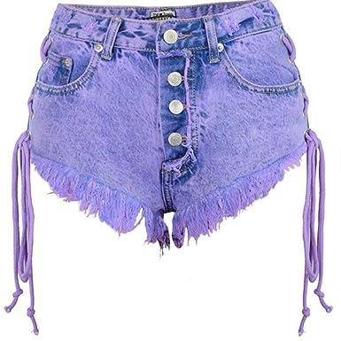 Jeans Classique Pour Femme Fashion Bohemia Short Laisla High 5LARjq34