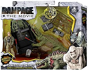 Rampage The Movie Subject Lizzie Playset