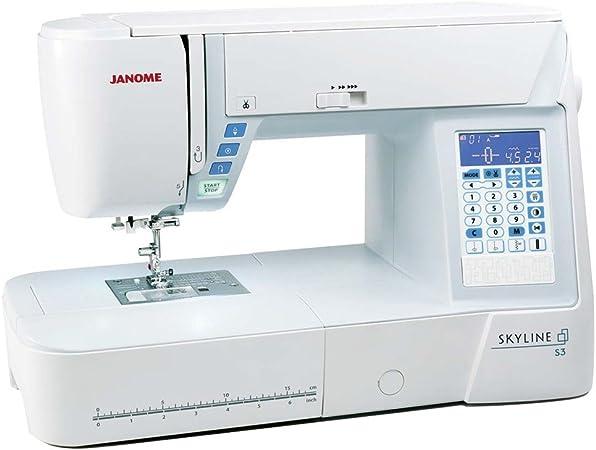 Janome Skyline S3 – Máquina de coser – Ordenador de máquina de ...