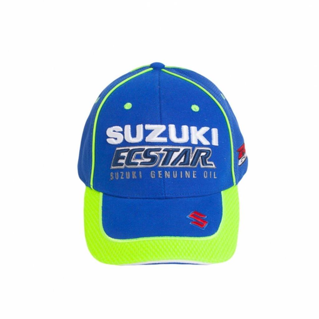 Suzuki Motogp Team Ecstar ricamato cappello blu 990 F0-m7cap-000   Amazon.it  Auto e Moto 535f4f05ef65