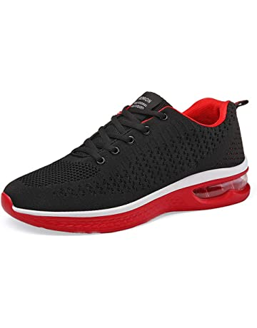 on sale 486fb 7cca7 Fexkean Hommes Femme Basket Mode Chaussures de Sports Course Sneakers  Fitness Gym athlétique Multisports Outdoor Casual.  1