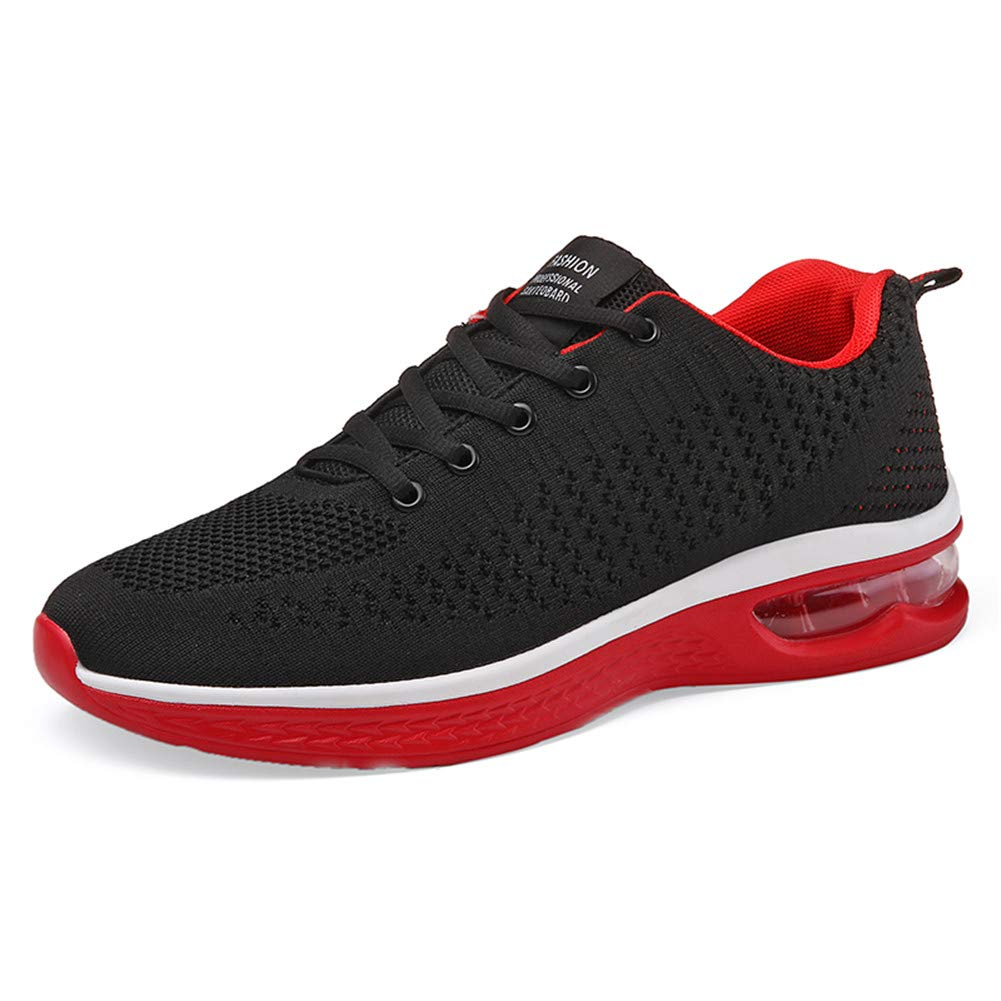 huge discount 3b8fa 9ea16 Fexkean Hommes Femme Basket Mode Chaussures de Sports Course Sneakers  Fitness Gym athlétique Multisports Outdoor Casual