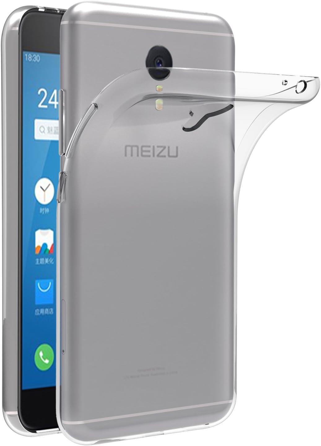 ivoler Funda Carcasa Gel Transparente para Meizu M3 Note, Ultra Fina 0,33mm, Silicona TPU de Alta Resistencia y Flexibilidad: Amazon.es: Electrónica
