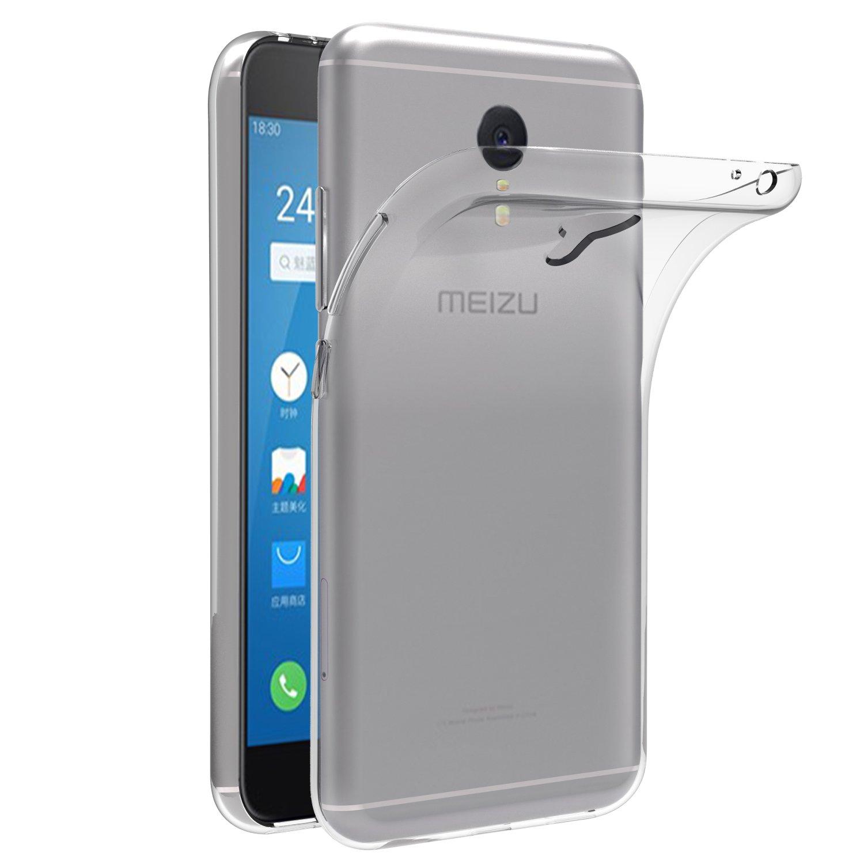 ivoler Funda Carcasa Gel Transparente para Meizu M3 Note, Ultra ...