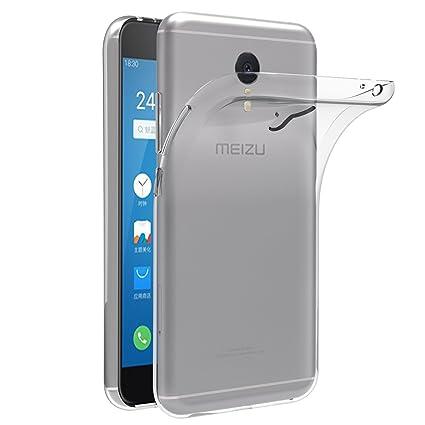 iVoler Funda Carcasa Gel Transparente para Meizu M3 Note, Ultra Fina 0,33mm, Silicona TPU de Alta Resistencia y Flexibilidad