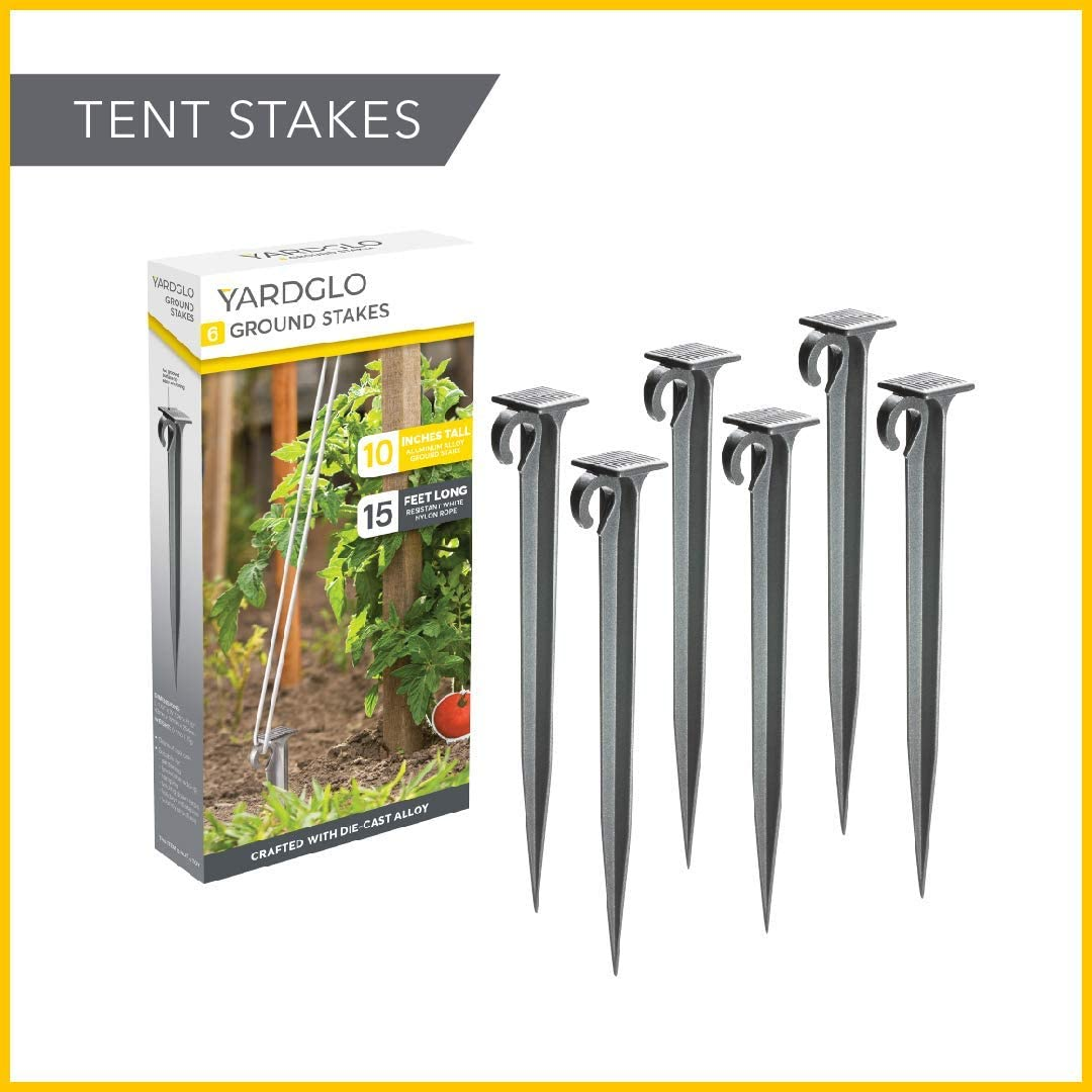 20 Garden Stakes + 20 Buffer Washers 6 Inches Garden Pegs Lawn Landscape Pegs With for Weed Control Membrane//Fabric//Landscape Net Weed Membrane Stakes ZIONYA Galvanized Garden Stakes