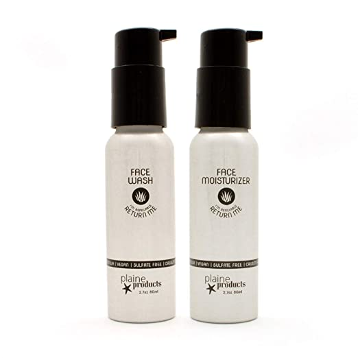 The Plaine Products Face Moisturizer travel product recommended by Megan Carriker on Pretty Progressive.