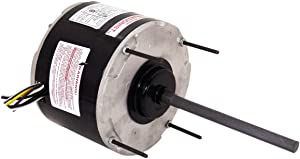 A.O. Smith FS1026S 1/4 HP, 1075 RPM, 1075 volts, 1.5-1.9 Amps, 48 Frame, Sleeve Bearing Condenser Motor