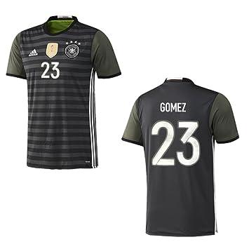 Adidas Dfb Deutschland Trikot Away Kinder Euro 2016 Gomez 23