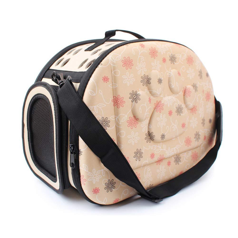 Pet Carriers Dog Sling Bag Printed Footprint Portable Portable Foldable pet Bag