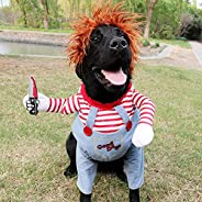 Dog Funny Costume Halloween Pet Clothes Cat Cosplay Party Suit Funny Dog Costume Small to Large Dogs