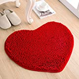 Love the door mat mat in the foyer bathroom and kitchen Ottomans bedroom carpet -5060cm Red