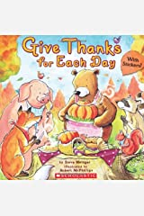 Give Thanks for Each Day Paperback