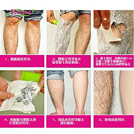 100ml Men Women Hair Removal Cream Legs Privates No Allergy No
