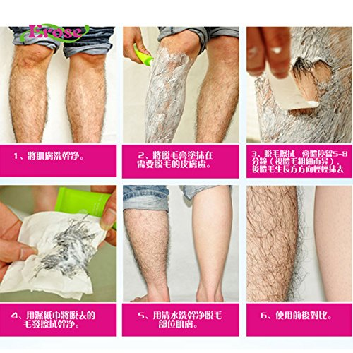 100ml Men Women Hair Removal Cream Legs Privates No Allergy No