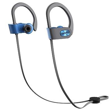 Auriculares inalámbricos deportivos de Mpow; resistentes al agua (IPX7), Bluetooth 4.1 y