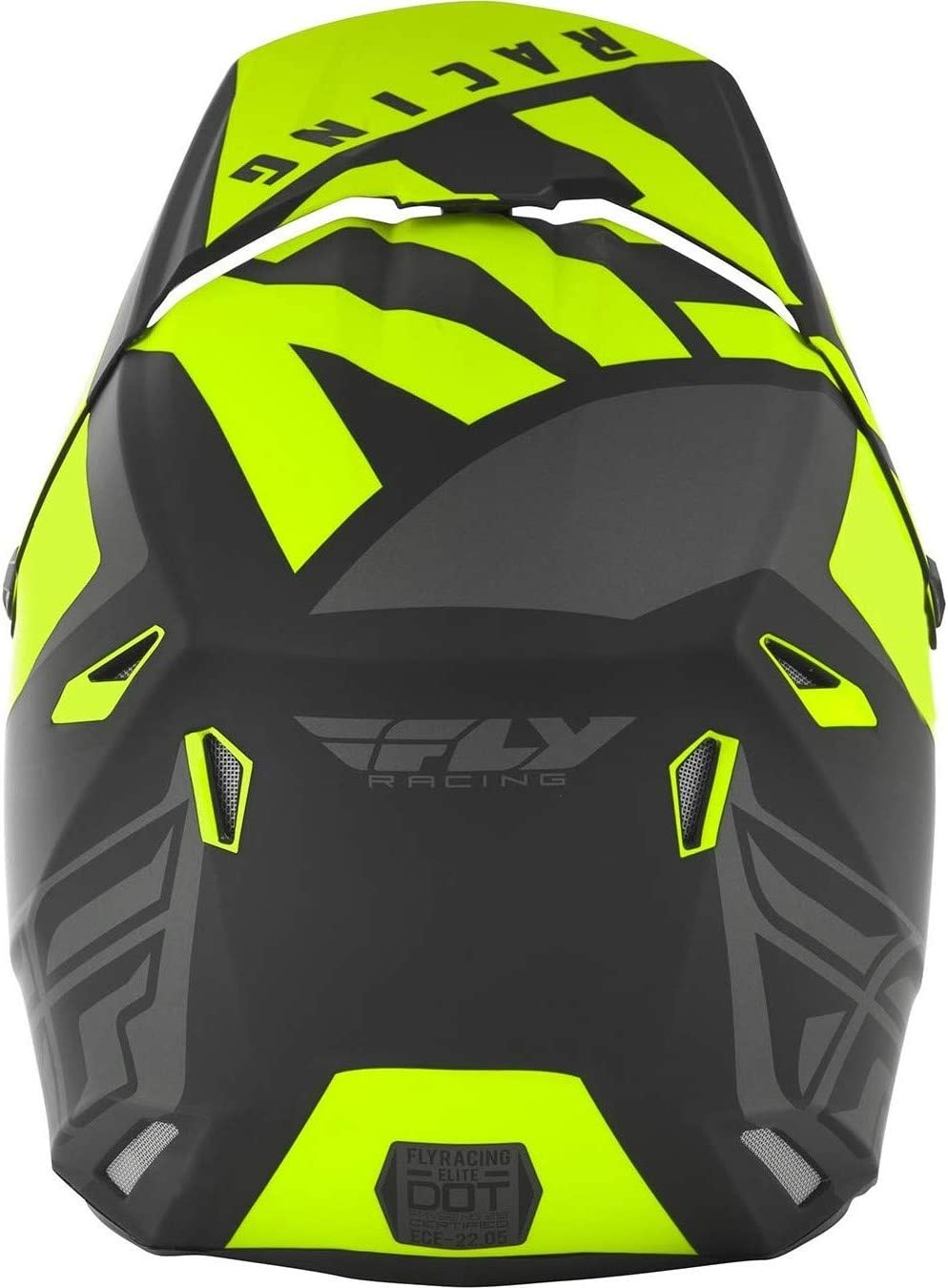 Orange//Black Medium Vigilant Fly Racing 2019 Youth Elite Helmet