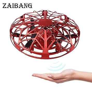 ZAIBANG Mini Drone, RC UFO Helicóptero, Juguete Volador ...