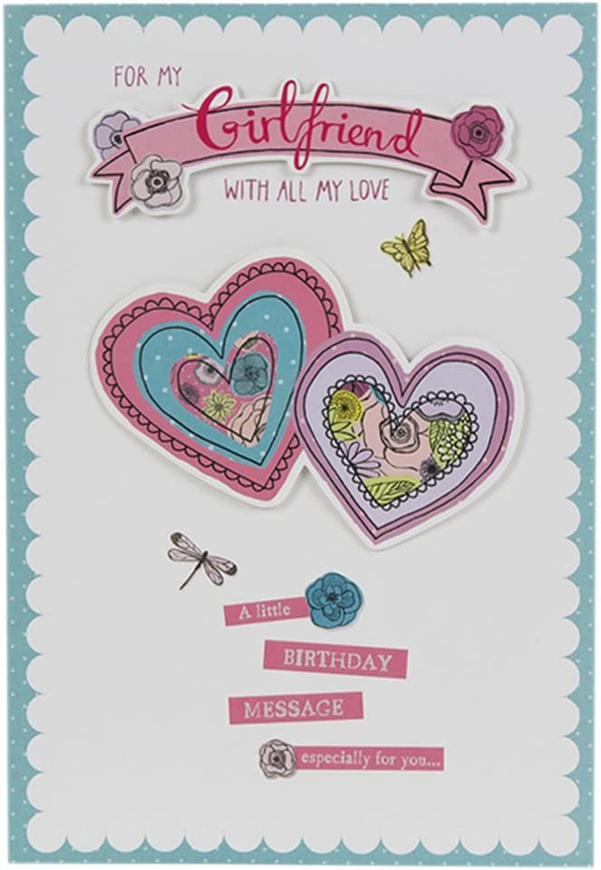 Remarkable Hallmark Birthday Card For Girlfriend I Love You Large Old Personalised Birthday Cards Paralily Jamesorg
