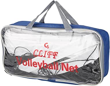 Alomejor Volleyball Net Portable Adjustable Badminton Volleyball Net Outdoor Indoor Foldable Tennis Net
