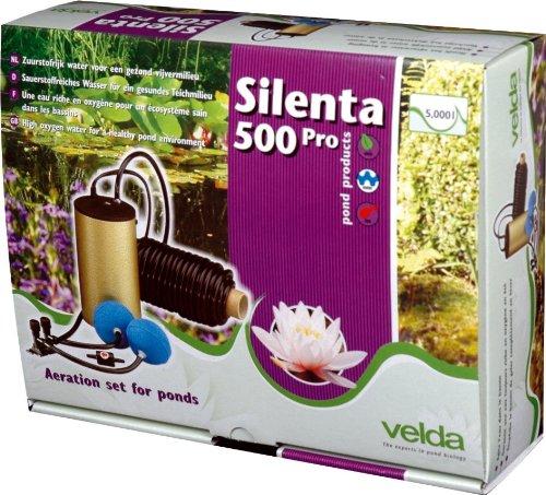Velda - 125075 - aérateur complet pour bassin d'agrément, Silenta 500