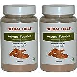 Herbal Hills Arjuna Powder - 100g Each (Pack of 2) Bottle