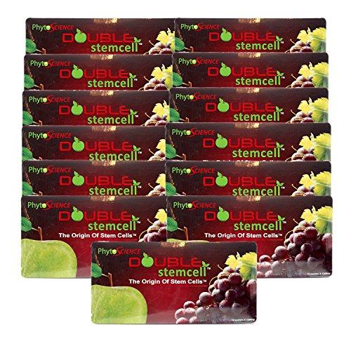 10 Packs of Phytoscience Apple Grape Double Stemcell Free 3 Packs (Origin Stem cell Swiss Quality Formula)