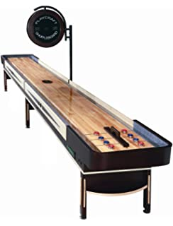 Great Playcraft Telluride Pro Style Shuffleboard Table With Electronic Scorer