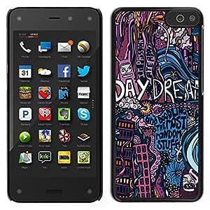 Dragon Case - FOR Amazon Fire Phone - Your smiling eyes? - Caja protectora de pl??stico duro de la cubierta Dise?¡Ào Slim Fit