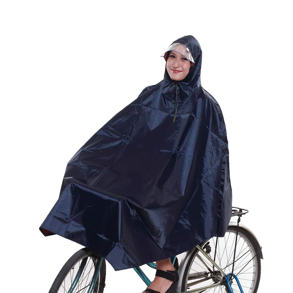 D  Hyuyi Poncho imperméable vélo électrique imperméable vélo Unique (Couleur   D)
