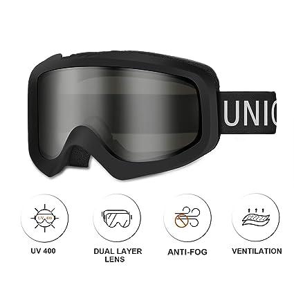 Unigear Gafas de Esquí OTG Esquiar Protección UV 400 Snowboard ...