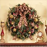 30-inch Artichoke and Berry Christmas Wreath