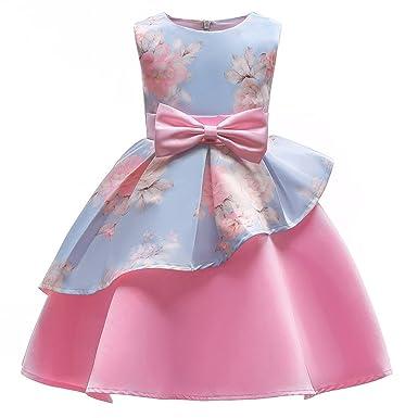 098768b9 Collager Kids Flower Girl Dress 3-10 Years Old Princess Wedding Dress Ball  Gown