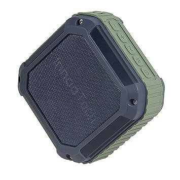 Innoo Tech Altavoz Bluetooth Portátil Inalámbrico Compatible con Tarjeta TF Función de Radio AUX con Cable USB Impermeable al aire libre ya Prueba de ...