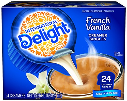 INTERNATIONAL D French Vanilla Creamers, 24 ct