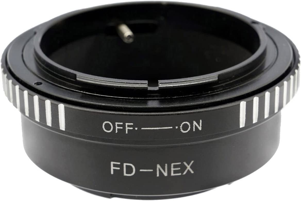 Gadget Place Canon FD Lens Adapter for Sony Alpha a6500 a6300 a5100 7R II 7S II