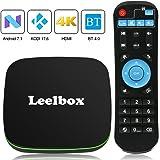 TV BOX Android 7.1 - Leelbox Q1 Smart TV Box Quad Core, 4K*2K UHD H.265, HDMI, USB*2, WIFI Media Player, Android Set-top Box