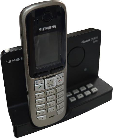 Siemens Gigaset Cx475 Isdn Mit S68h Mobilteil Elektronik