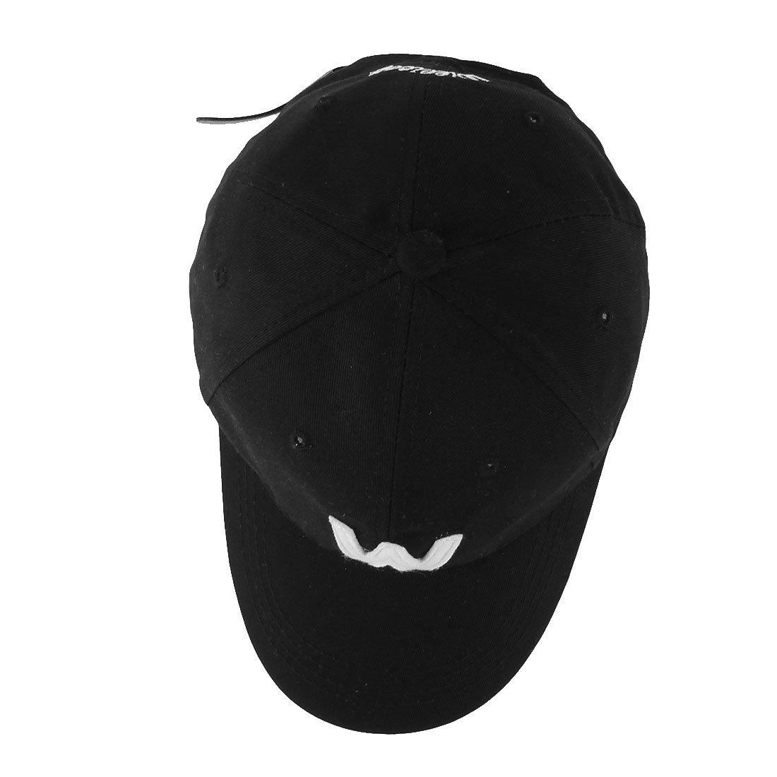 Amazon.com : eDealMax Mezclas de algodón, Verano al aire Libre, patrón de la letra, Ajustable Leisure Golf Gorra de béisbol : Sports & Outdoors