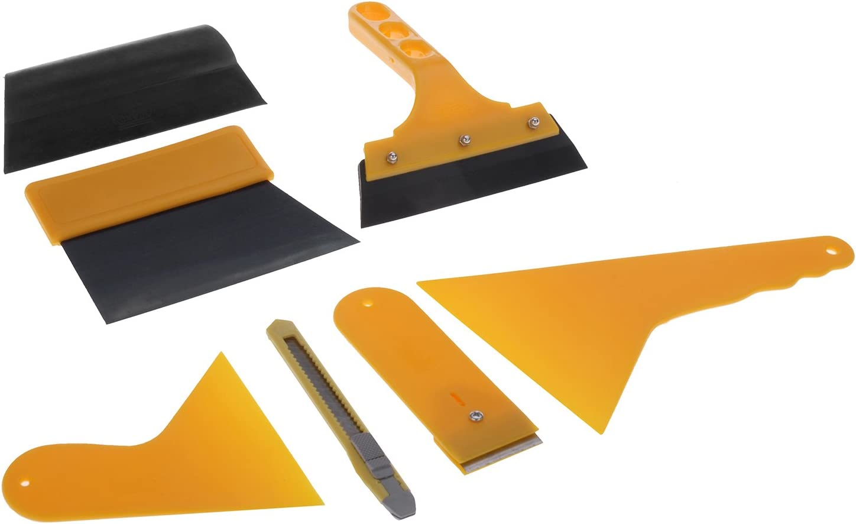 Tinxi Folien Rakel Set Tönungsfolie Sonnenschutz Folie Montage Abziehen Werkzeug Auto