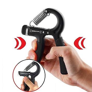 Fitness mano Trainer, Finger Trainer, 90004030, pesas, Hand Grip Exerciser 22 ajustable