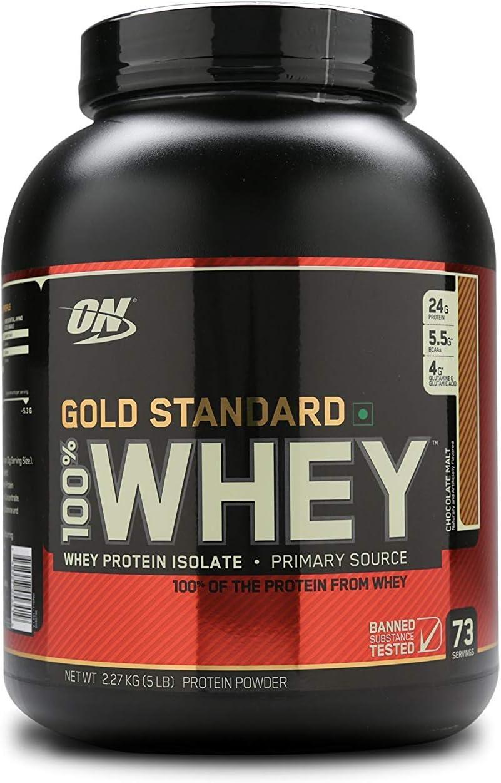 Optimum Nutrition Nutrición Óptima - Gold Standard 100% Whey ...