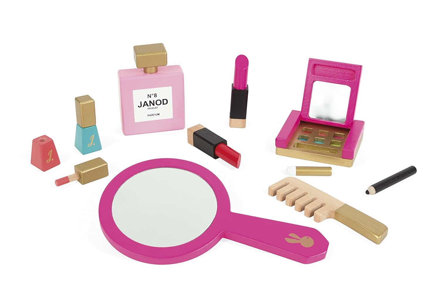 Janod jeu de maquillage little miss j rose amazon jeux