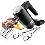 SHARDOR Hand Mixer Powerful 300W Ultra Power Electric Hand Mixer with Turbo for Whipping Mixing Cookies, Brownies, Cakes, Dou