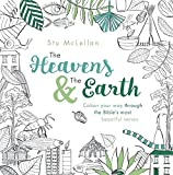 The Heavens and the Earth: Colour your way through the Bible's most beautiful verses (NIV) (adult colouring book)