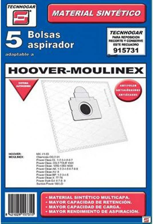 ERSA 915731 Bolsa aspirador, Blanco: Amazon.es: Hogar