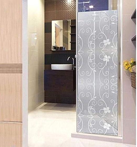 meijiago - Adhesivo de PVC esmerilado para mampara de ducha con ...