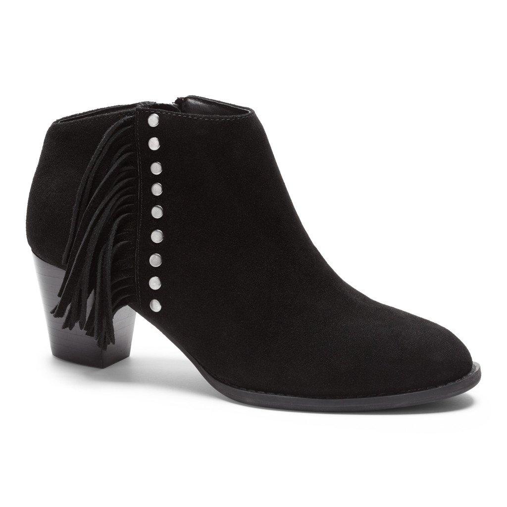 VIONIC Women's Upright Faros Fringe Boot Black Boot