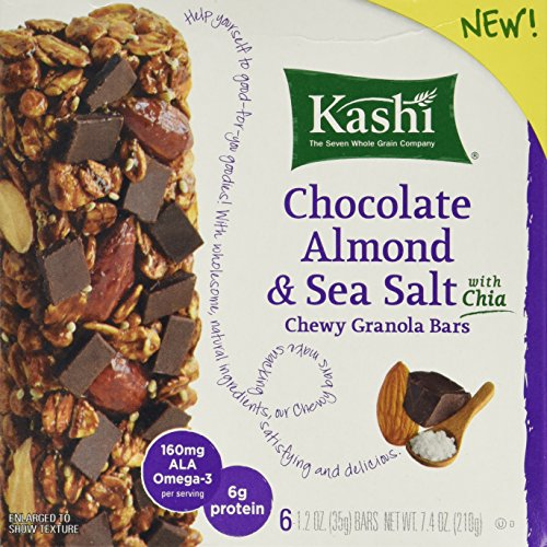 Kashi Chocolate Almond & Sea Salt With Chia, 7.4oz Box (Pack of ()