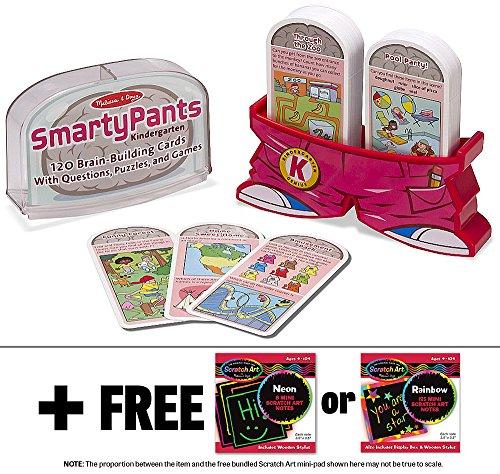 Kindergarten Melissa Doug Scratch Mini Pad